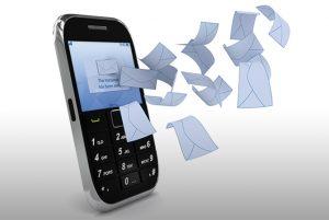 پلیس و استفاده از پیامک